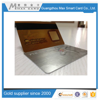 Factory making blank magnetic stripe cards customized printing