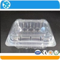 clear pvc fruit heart shaped plastic packaging box
