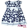New navy blue baby girl dress 12 18 24 months
