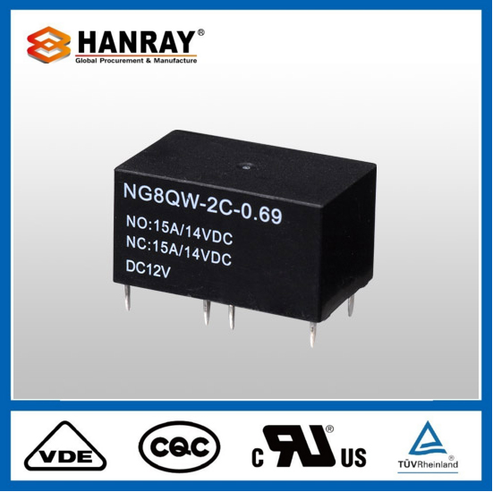 Fashion Design Double Diode Pcb Automotive Relay