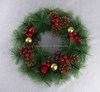 /product-detail/12inch-artificial-pine-needle-xmas-decorative-wreath-holiday-decorations-60565140773.html
