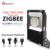 Zigbee bridge 10W new warehouse light DC12V AC100-240V  RGBCCT led flood light with US/UK/AU/EU standard