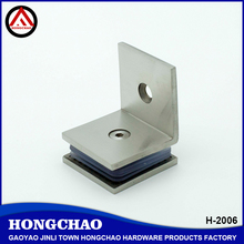 Heavy duty good quality 90 degree glass clip