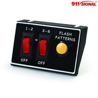 three button LED Light Control Box ,electrical plastic switch boxes (BR930)