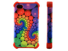 New Latest 2 in1 3D Sublimation Phone case for IPhone 4/4S