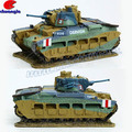 1:36 Scaled Polyresin Military Models Tank Model