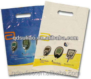 biodegradable Plastic Die Cut Handle shopping Bag
