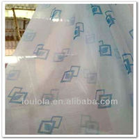2013 Fresh Design Chiffon Gauze Covering Window Curtain Printed Window Curtain Net