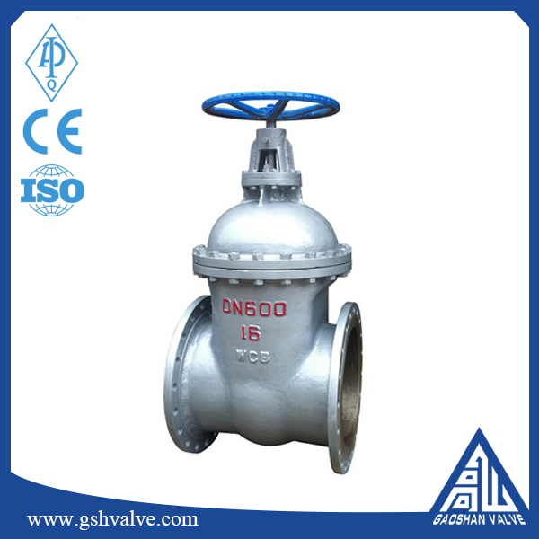 carbon steel non rising stem wedge gate valve made in china