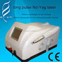 high efficiency and speed skin hair removal medical machine long pulse nd yag laser
