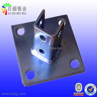 Custom Galvanized Welded Steel Brackets from China Hangzhou Professional Sheet Metal Fabrication Manufacturer