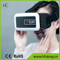 HD Video Game 3D Glasses Head Mount 360 Degree VR Box Virtual Reality Google+Remote Control