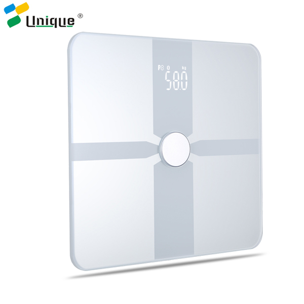 Laboratory Chinese Waterproof Calibration Electronic Deals Body Fat Analyser Digital Bathroom Glass Scale For Sale