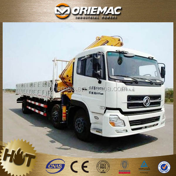DONGFENG Perfect Teloon 8x4 Truck with crane