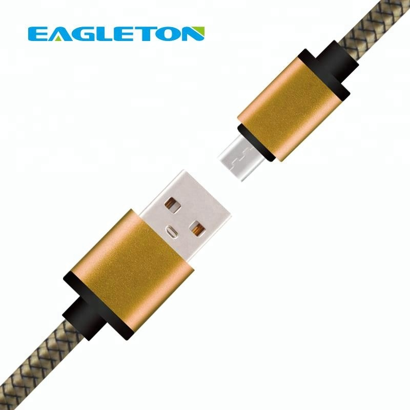 usb to shenzhen multi braided mini micro usb 2.0 cable data line manufacturer for android