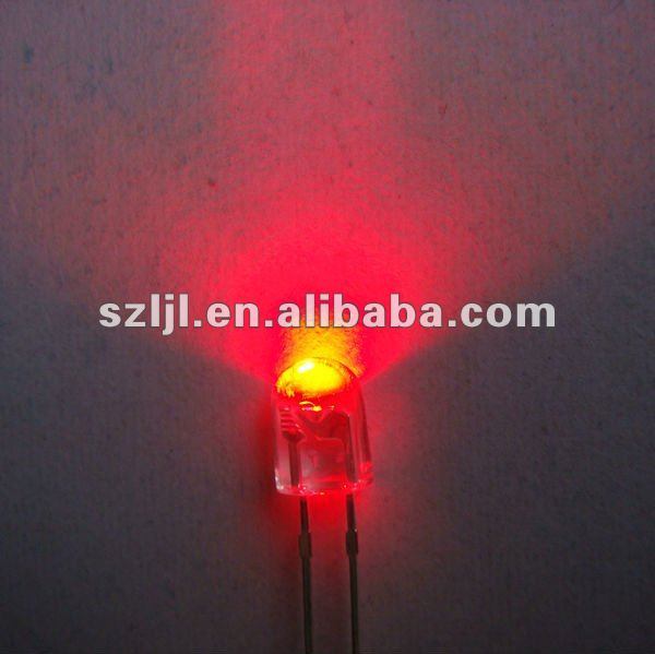 5mm Oval LED Diode/Super Oval LED/Red/Green/Blue LEDs