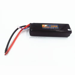 factory custom size lipo battery 14.8v 5000mah discharge rate 25c battery lithium polymer battery