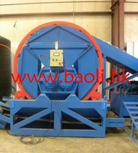 Waste tire recycling production line machine