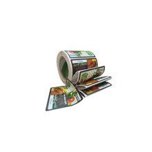 Printing Custom Adhesive Logo Sticker Label,Custom Peel Off Stickers For Food Labels.