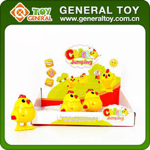 surprising wind up toy chicken lays eggs new china candy toy factory