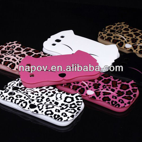 For samsung galaxy s3 case animal shaped phone cases