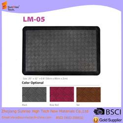 32 Inch by 20 Inch PU antistatic ESD type anti-fatigue mat for workshop