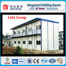 Professional prefabricated steel frame house,fiberglass prefabricated house with CE certificate