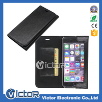 Hot classic ultra thin business Italy genuine leather case for iPhone 6 Plus