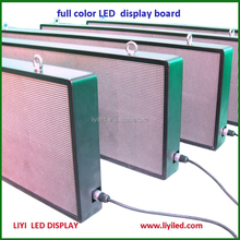 wireless hanging programmable mini led sign display board \ scrolling led message sign display