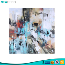Hot sales framed abstract wall paintings