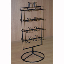 counter top spinning metal wire bracelet display rack with SGS certification