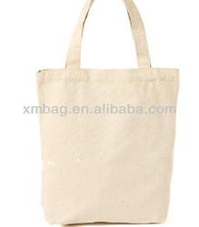 High quality blank canvas cotton tote bag ,Recycled Cotton Bag