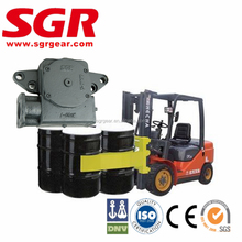 forklift application worm drive reduction gearbox