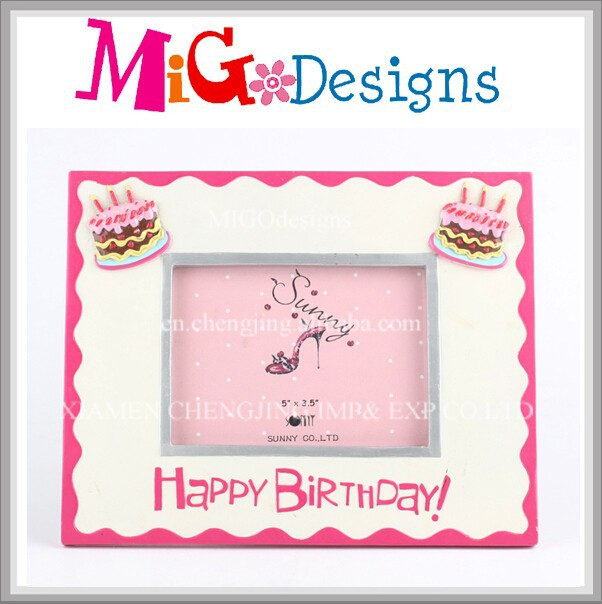 Birthday Cake Photo Frame Happy Wholesales Picture