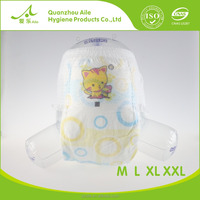 Super BreathableDry Surface Strong Absorption Economic OEM Baby Diapers Manufacturer