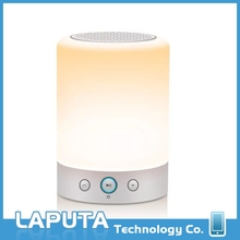 Hot selling led light with bluetooth L7 speaker led magic lamp bluetooth L7 speaker with low price