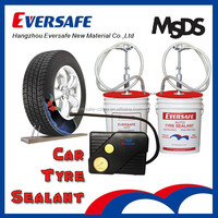 Tyre sealant car tyre sealant tire sealant with air compressor for preventative use
