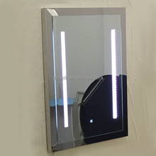 luxury stainless steel LED mirror