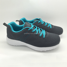 Alibaba fashion comfortable men footwear sneakers fly knitting sport running shoes