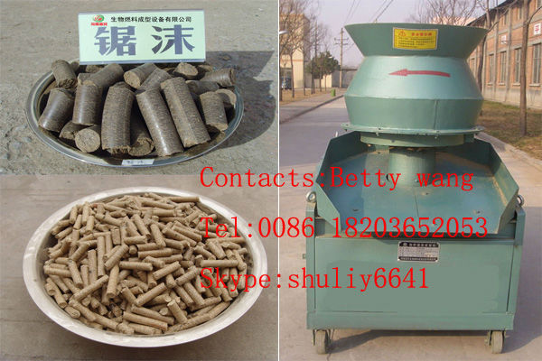 Hay/Straw Biomass Fuel Pellet/Briquette Machinery