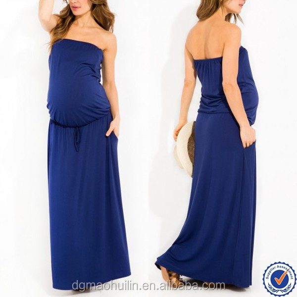 pregnancy clothes maternity maxi evening dress mommy and me summer dresses