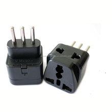 Schuko 100V-240V Universal Plug Adapter for Italy