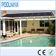 DIY Polypropylene solar water heater collectors for swimming pool