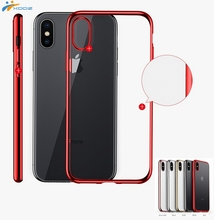 XDDZ New For iPhone X Soft Electroplating TPU <strong>Case</strong>