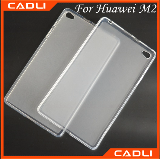 Hot popular mobile phone accessories case clear phone case for Huawei M2 PLE-703L