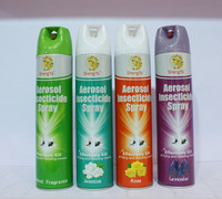 Alcohol based aerosol insecticide/mosquito insecticide/insect killer