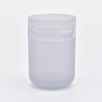 285ml Spray color glass candle jars