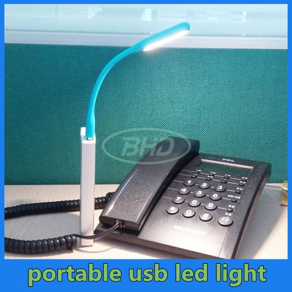 Eye-care Micro USB LED Reading Light/Lamp For Laptop,Computer,Power Bank