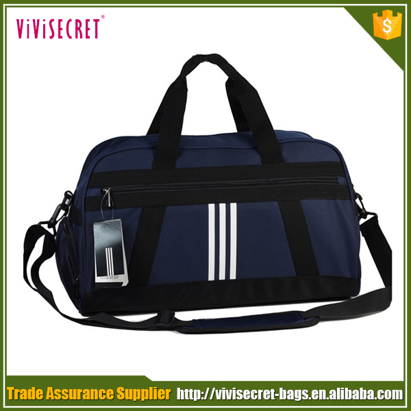 Promotion nylon outdoor sports travel duffle bag practical sports gym bag for fitness