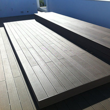 House terrace WPC fireproof outdoor decking in china